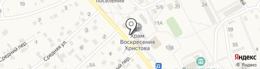Магазин строительных материалов на карте Марковой