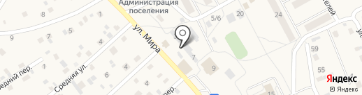 Пивной причал на карте Марковой