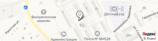 Qiwi на карте Марковой
