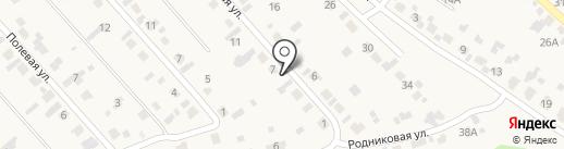 Продовольственный магазин на карте Марковой