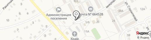Врачебная амбулатория на карте Марковой