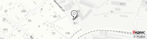 MS на карте Иркутска