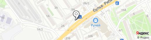 Мастерская по ремонту обуви и изготовлению ключей на карте Иркутска
