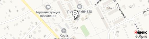 Киоск по продаже печатной продукции на карте Марковой
