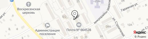 Веда на карте Марковой