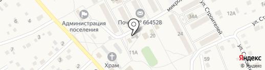 Сибирская нива на карте Марковой