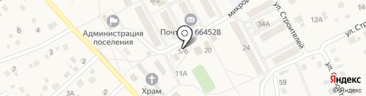Маркова на карте Марковой