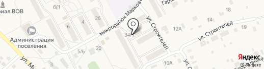 Банкомат, Сбербанк, ПАО на карте Марковой