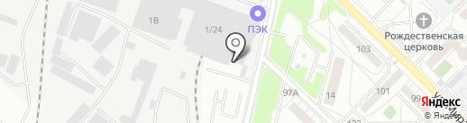 Госта на карте Иркутска