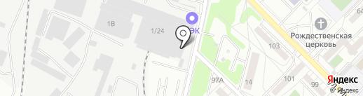 Магазин автотоваров на карте Иркутска