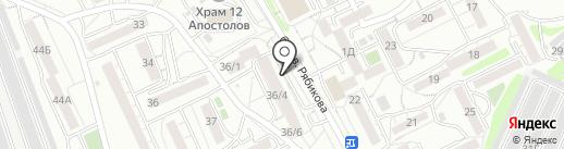 Айкью на карте Иркутска