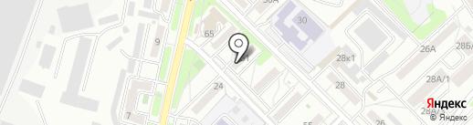 31 на карте Иркутска