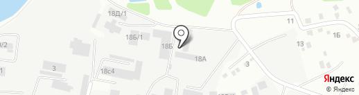СТД на карте Иркутска