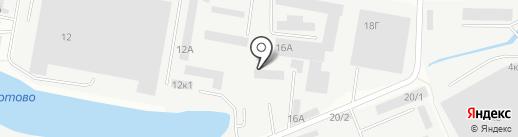 ДЕЛОМЕТАЛЛ на карте Иркутска