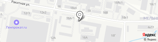 Сип-Иркутск на карте Иркутска