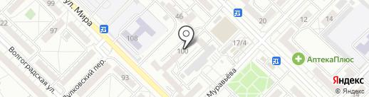 Арго на карте Иркутска