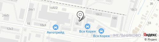 АЭЛЬ на карте Иркутска