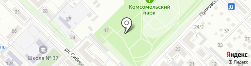 ЕНОТиКО на карте Иркутска