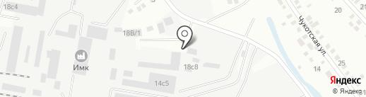 Оксла на карте Иркутска