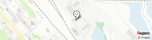 Эльбрус на карте Иркутска