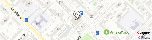 Квант на карте Иркутска
