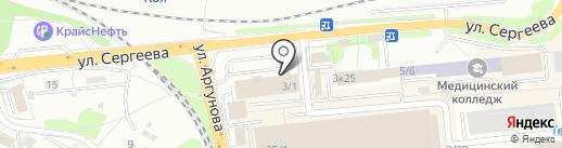 Истпартнер на карте Иркутска