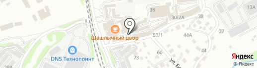 Магазин морепродуктов на карте Иркутска