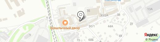 Белореченское на карте Иркутска