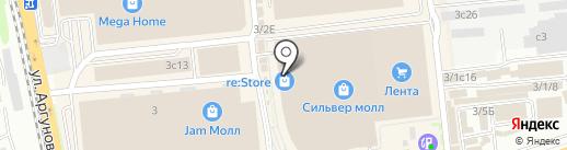 Элемент моды на карте Иркутска