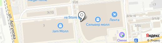 Панинтер на карте Иркутска