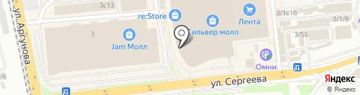 SanDali на карте Иркутска