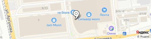 Эстетъ на карте Иркутска