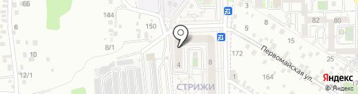 Реалмаркет на карте Марковой