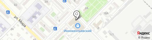 Дело-табак на карте Иркутска
