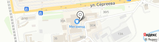 СЕРВИСНЫЕ ТЕХНОЛОГИИ на карте Иркутска