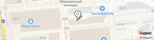 АСТ Строй на карте Иркутска