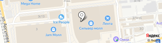 Molinari на карте Иркутска