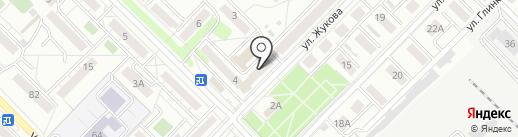 Baza на карте Иркутска