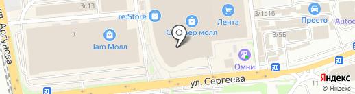 Carte D`or на карте Иркутска