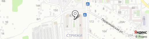 Палитра на карте Марковой