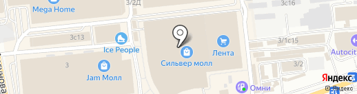 Yaya на карте Иркутска