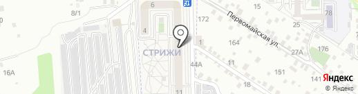 Катюша на карте Марковой