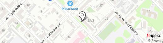 Шкатулка Елены и Анны на карте Иркутска