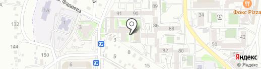 АЛЬДЕР на карте Иркутска