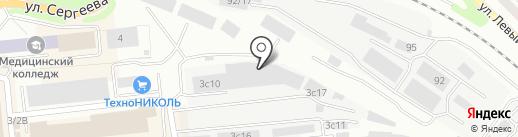 ВиАС на карте Иркутска