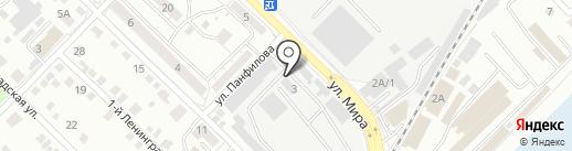 ЧОП Страж на карте Иркутска