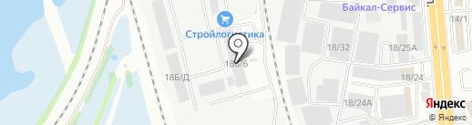 СаватрансАвто на карте Иркутска