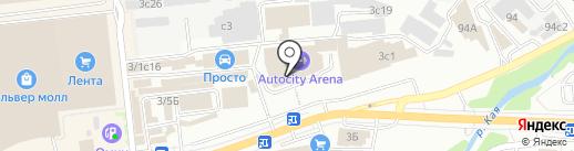 Ford на карте Иркутска