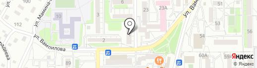 АлматыОрг Ресурс на карте Первомайского
