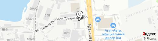 Иркутская дверная компания на карте Иркутска